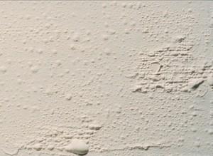 bolhas na pintura